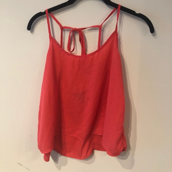 Coral Pink Forever 21 Tank Top